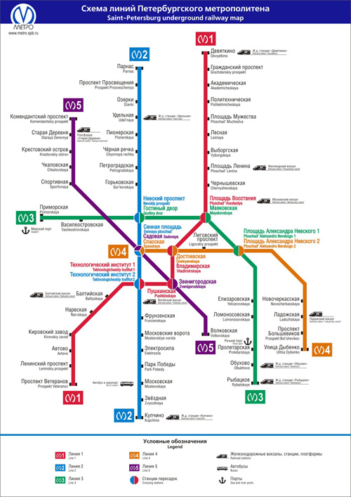 Карты метро - бесплатные схемы